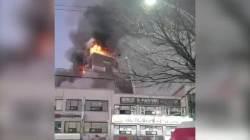 20명 숨진 2층 여성 목욕탕 … 불난줄도 모르고 당했다