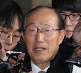 """이원종 전 비서실장 """"국정원서 매달 5000만원 받았다"""""""
