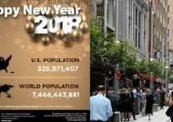 새해 첫날 전세계 인구는 몇 명일까요?