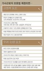 [J report] 가사도우미 특별법 딜레마 … 일자리는 안정, 비용은 껑충