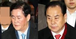 """[속보] <!HS>최경환<!HE>·이우현 구속…""""증거 인멸 우려있다"""""""