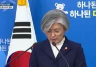 """[Visual News]강경화 장관 """"일본에 위안부 합의 재협상 요구 않해"""""""