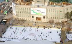 평창<!HS>올림픽<!HE> 기념한 <!HS>서울<!HE>광장 스케이트장에 왜 '평창<!HS>올림픽<!HE> 로고'가 없을까?