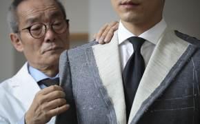 장인이 한 땀 한 땀...옷 좀 입는 남자들의 양복 '비스포크'