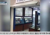 통일기원 글, 평양처방 약 … 팔공산의 북한 미녀응원단 흔적