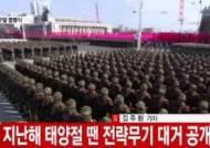 """""""北 열병식 작년보다 1시간 줄어…내용도 축소"""""""