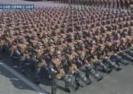 北열병식 김정은 양옆엔 황병서 후임 김정각과 이명수