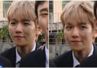 BAEKHYUN's Eyebrow Gone Askew?…EXO-L's Get to the Bottom of His Odd Eyebrow