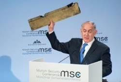 """이스라엘 """"이게 격추한 이란제 드론 부품"""" vs 이란 """"거짓말"""""""