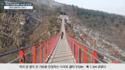 [굿모닝 내셔널]단숨에 100만명 돌파한 '감악산 출렁다리'