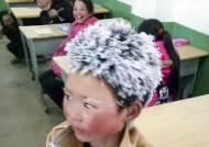 """또 시련에 빠진 中 '눈송이 소년' 왕푸만…""""학교서 쫓겨났다"""""""