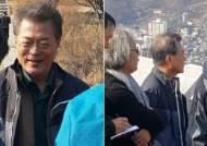 문재인 대통령 인왕산 등산…탄핵 1년 '정국구상'