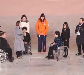 30년만의 황연대성취상...평창 패럴림픽 폐회식 속 잔잔한 감동
