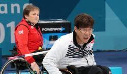 휠라, 휠체어컬링 '오벤져스'에 격려금 5000만원 전달