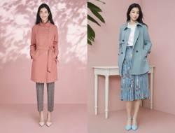 올 봄 중년여성 '잇템'은 체크무늬에 기장 긴 재킷