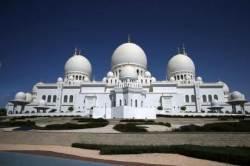 [서소문사진관]문 대통령이 방문했던 UAE의 그랜드 모스크는 어떤 곳