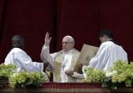 """교황 부활절 메시지 """"한반도 대화 결실을 기원"""""""
