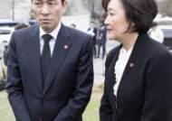 """박영선·우상호 """"서울시장, 차기 대권주자 올 자리 아니다"""""""