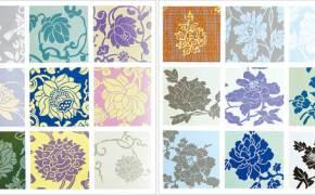 [江南人流] 한복 속 닮은 듯 다른 문양 … 연꽃무늬와 모란무늬