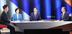 """박영선·우상호는 '협공'에 박원순은 """"원팀""""…민주당 서울시장 후보 TV토론"""