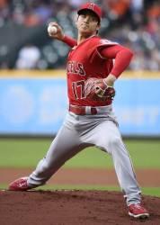 시속 162.5㎞, <!HS>MLB<!HE> 최고 빠른 공 던진 선발투수 오타니