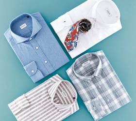 [<!HS>gift<!HE>&] 한국인 체형 최적화된 수트·셔츠 가성비 뛰어난 세트 상품도 주목