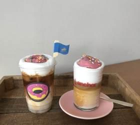 [<!HS>인스타<!HE>, <!HS>거기<!HE> <!HS>어디?<!HE>] 커피에 푹 빠져버린 디저트…도넛 '한 잔' 어때요?