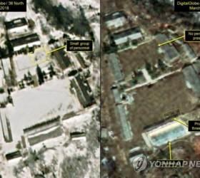 """미 CBS """"<!HS>북한<!HE><!HS>,<!HE> 풍계리 <!HS>핵실험<!HE>장 갱도들서 전선 철거 시작"""""""