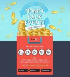 온라인 쇼핑 플랫폼 우고스 '결제 후 추가할인 현금 페이백' 이벤트