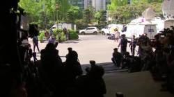 [서소문사진관] '드루킹' 참고인 김경수의 표정들