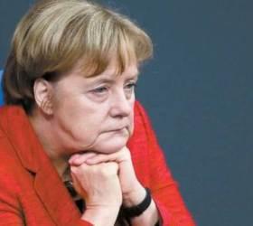 """<!HS>메르켈<!HE> """"독일‧프랑스‧영국, 이란 핵합의 유지…해결방법은 대화"""""""