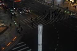 바닥 신호등, 서울 광화문에도 등장한다