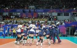 한국 여자배구, 세계 랭킹 1위 중국 완파