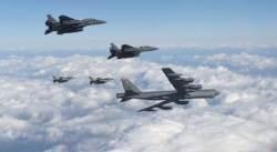 美 B-52 폭격기, 17일 일본과 훈련…한국은 불참 통보?