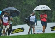 '비 때문에...' LPGA 투어, 2개 대회 연속 축소 운영