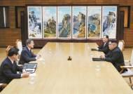 """문 대통령 """"북 비핵화 의지 확고"""" … CVID엔 확답 안 해"""
