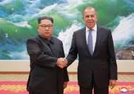 """[속보] 김정은 """"조선반도 비핵화 의지, 변함없고 일관·확고"""""""
