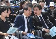 현충일 맞아 'NO 율동·로고송' 선거운동…한국당은 아예 유세 안 잡아