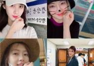 [포토사오정]'소녀시대'는 물론 훈장님도 투표 인증샷 열풍