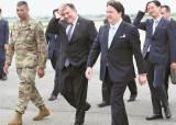폼페이오·매티스 한국 총출동 … 한·미훈련 중단 논의
