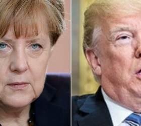 """""""난민수용 한 독일, 범죄 늘었다"""" 트럼프 트윗에 <!HS>메르켈<!HE> 대답"""