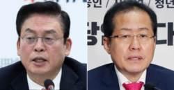 """<!HS>김영삼<!HE>부터 홍준표·정우택·류여해 """"기차와 개"""""""