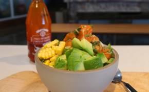 [혼밥의정석] 불 없이 요리하기 딱 좋아, 하와이식 연어 포케