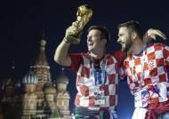 [서소문사진관] '발칸의 호랑이' 크로아티아, 월드컵 결승에