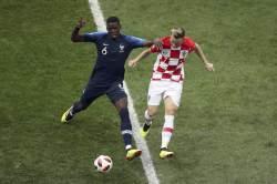 [<!HS>월드컵<!HE> 결승]크로아티아 자책골...전반 18분, 프랑스 1-0