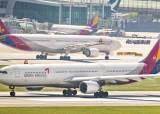 SK의 인수설에 주가 널뛴 아시아나항공