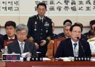 [포토사오정] '계엄령 검토 문건' 보고 방법, 답변 엇갈리는 송영무 장관과 이석구 기무사령관