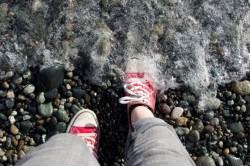 [한 끗 리빙]물놀이 하다 젖은 운동화, 빨리 말리기