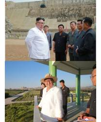 "<!HS>김정은<!HE> 일주일만에 '버럭'→""기분좋다"" 급전환, <!HS>트럼프<!HE>와 닮은꼴?"