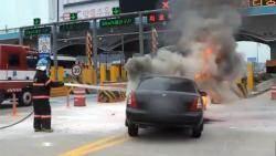 타이어 펑크, 차량 화재 … 폭염에 노출된 '마이카'